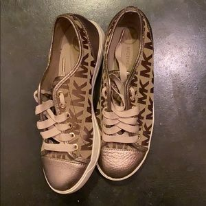 Michael Kors sneakers rose gold